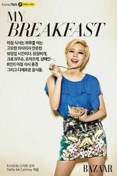 Sunny @ Bazaar Magazine Picture - Kakao Talk