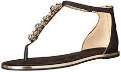 Nine West Women's Kayuga Leather Dress Sandal