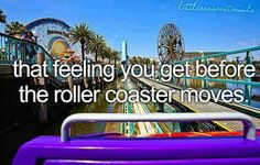 READY FOR SUMMER TO GO ON ROLLER COASTERS!!! <3