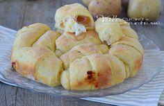Torta cornetti di patate salata