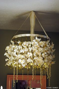 cherry blossum chandelier -how to make