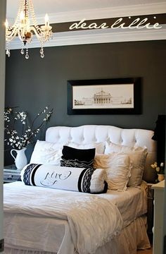 A Couple of Master Bedroom Projects and a NEW Pillow Cover GIVEAWAY! by Dear Lillie