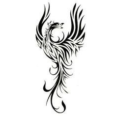 abstract_tribal_art_phoenix_tattoo_2.jpg (448×448)