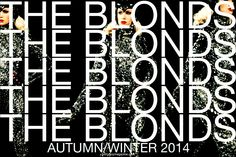 The Blonds Autumn/Winter 2014 collection.