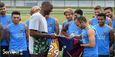 Kobe Bryant Yang Begitu Mengidolakan FC Barcelona