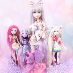 Custom MH Dolls by moonlight_jewel_dolls