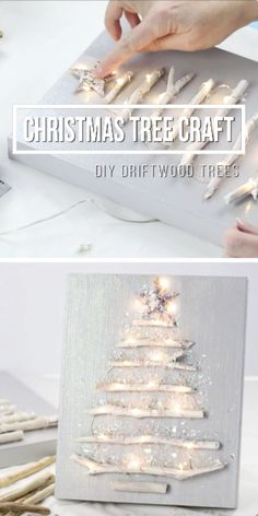 Diy christmas decorations 114138171794269723 - DIY Christmas Decor – Make a Driftwood Christmas Tree Source by choicybriana Christmas Balls Diy, Diy Christmas Decorations, Driftwood Christmas Tree, Christmas Crafts For Adults, Christmas Crafts To Make, Holiday Crafts, Diy Christmas Projects, Diy Christmas Videos, Diy Crafts For Adults