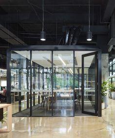 Brisbane Studio Via Archdaily Interior Designers Woods Bagot Location 102 Adelaide St