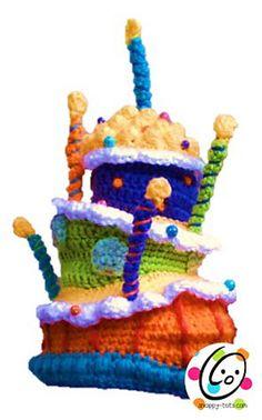 The ultimate birthday hat crochet pattern.