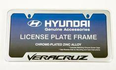 Hyundai Veracruz License Plate Frame M038