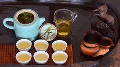 der Tee komplett :-)