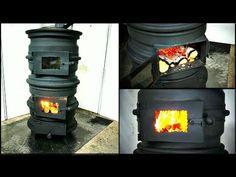 Wood Stove from Car rims DIY - Smart Engineering Wood Gas Stove, Wood Stove Heater, Diy Wood Stove, Wood Stove Cooking, Wood Burner, Rims For Cars, Car Rims, Wood Stove Installation, Stainless Steel Splashback