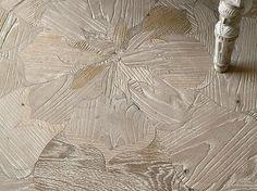 Inlaid English oak parquet SIMON by I Vassalletti