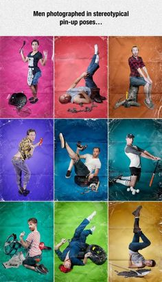 Stereotypical Pin-Up Poses