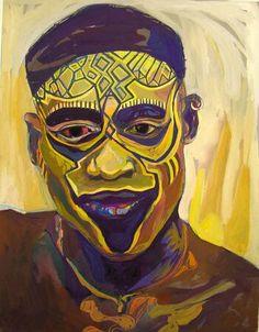 Artwork by Ehi Obinyan  #african #art