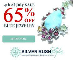 SilverRushStyle - BigJim's Info  SILVERRUSHSTYLE -   4TH OF JULY SALE - ALL BLUE COLOR JEWELRY 65% OFF All Blue Colors, Jewelry Shop, 4th Of July, Shop Now, Gemstones, Clothing, Accessories, Design, Kleding