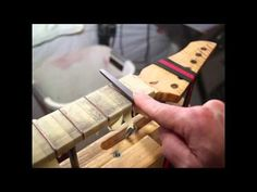 16 Steps to a Perfect Fret Job - YouTube