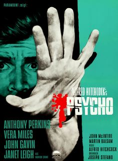 Psycho (1960)....Directed by Alfred Hitchcock...One of his masterpieces!