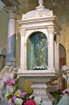 Eucharistic miracle of Lanciano, Italy.