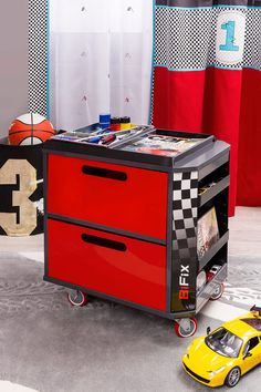 Portable storage that will win the race to be organized!!!