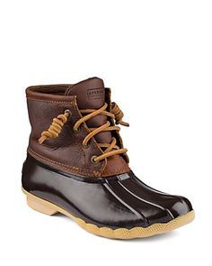 Sperry Waterproof Cold Weather Lace Up Boots - Saltwater   Bloomingdale's