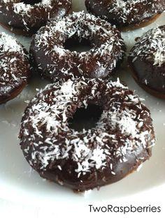 Chocolate Brownie Donuts -Vegan -Gluten Free -Soy Free