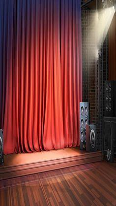 INT. RED STAGE SMALL #EpisodeInteractive #Episode Size 640 X 1136 #EpisodeOurCrazyLoveLife