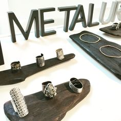 Contemporary Jewelry; set up for Metal & Smith POP UP in NYC