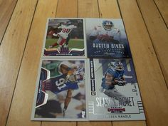 2014 Panini Contenders Card #50 RUEBEN RANDLE +3 More New York Giants Cards Mint