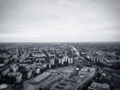 Aussicht vom Lieblingsgebäude auf die Lieblingsstadt. © Charlott Tornow