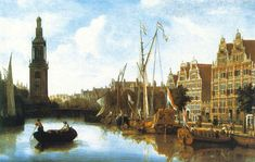 MartinRibbens Art and historical Tours through Amsterdam and the Amsteredam museums MartinRibbens Dutch Golden Age, Dutch Painters, 17th Century, Landscape Paintings, Amsterdam, Tours, History, Beautiful, Museums