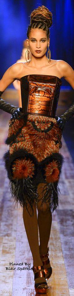 Paris Fall Couture 2016 Jean Paul Gaultier ~ ♕♚εїз | BLAIR SPARKLES |