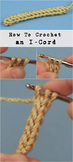 Crochet an I Cord