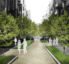 In Madrid, pretty much every unused space will soon be covered in plants. | Vacant lots, city squares, a former highway, and even regular city streets are going to be filled up with trees and plantseverywhere you look.