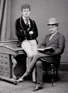 Fanny and Stella two Victorian Transvestites (Dressed as their original gender in this photo) who were arrested and released but not before a sensational case where over a 1,000 people come to see them at trial.