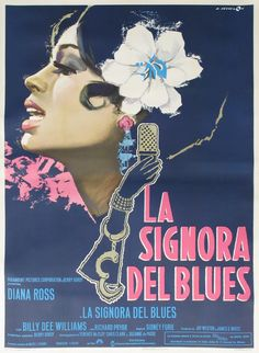 Actual Lady Sings The Blues Movie Poster by Angelo Cesselon image