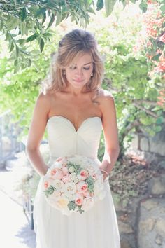 #succulents, #sarah-seven, #garden-roses, #bouquet  Photography: onelove photography - onelove-photo.com Design and Coordination: Joy de Vivre - joydevivre.net  Read More: http://stylemepretty.com/2013/07/19/santa-barbara-wedding-from-joy-de-vivre/