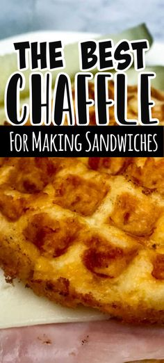 Low Carb Bread, Low Carb Keto, Low Carb Recipes, Keto Bread, Enchiladas, Waffle Maker Recipes, Keto Waffle, Waffle Iron, Sandwiches