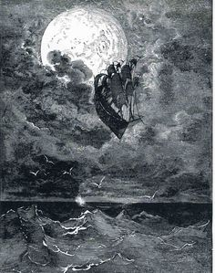 Voyage to the Moon- Gustave Dore