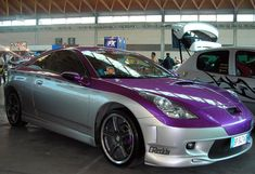 WANT a purple car!  But like, the whole thing!!!!  Not just part of it lol.