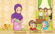 Helping Mom by tieq.deviantart.com on @DeviantArt