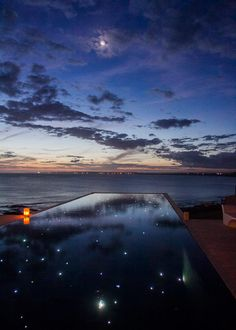 casamento-valentina-vivo-punta-del-este-playa-vik-06 Swimming Pools Backyard, Swimming Pool Designs, Moon Beach, Lighting Concepts, Cool Pools, Landscape Lighting, Interior Exterior, Beautiful Places To Visit, Water Features
