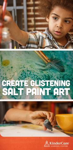 "How to Make Glistening Paint! Does your child love sparkles? This paint is a blast for your little twinkle toes, because her skies and seas will glint and glisten after drying. The recipe is bound to provoke an ""Aha!"" moment –and it's so simple!"