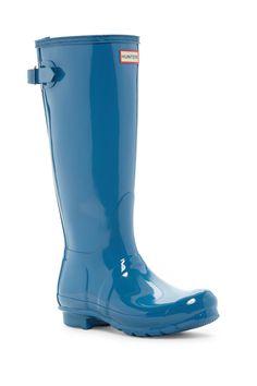 Original Back Adjustable Glossy Boot