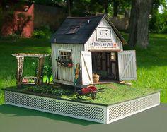 True2Scale Dollhouse Miniatures - 1:48 A Bushel and a Peck, $60.00 (http://www.true2scale.com/1-48-a-bushel-and-a-peck/)