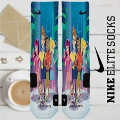 Fresh Beat Band of Spies Custom Nike Elite Socks