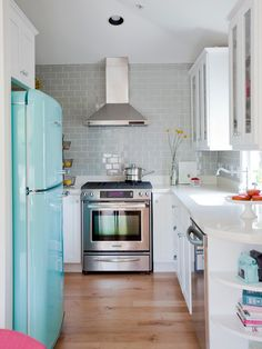 Kitchen by The Cross Design http://www.houzz.com/photos/5396820/Laneway-House-eclectic-kitchen-vancouver
