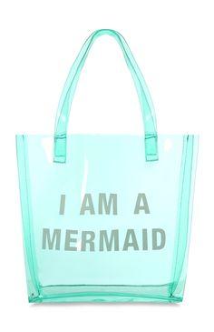 Primark - Blue I Am A Mermaid Beach Bag Kids Beach Bag, Best Beach Bag, Beach Girls, Beach Bags, Primark Bags, Primark Outfit, Primark Clothes, Mermaid Purse, Mermaid Outfit