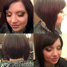 Long bob #extensions #makeup