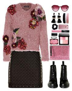"""Glam Rock"" by gicreazioni ❤ liked on Polyvore featuring Balmain, Dolce&Gabbana, Marni, Steven Alan, Gucci, Bobbi Brown Cosmetics, NARS Cosmetics, Speck and Accessorize"